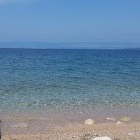 Photo taken at Plaža Beli by Nellyca N. on 8/10/2014