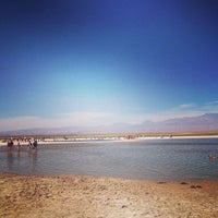 Photo taken at Laguna Cejar by Leo V. on 12/29/2012