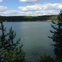Photo taken at Голубые Озера / Blue Lakes by Olya G. on 6/24/2013