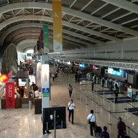 Photo taken at Chhatrapati Shivaji International Airport (BOM) by SS on 7/17/2013