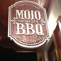 Photo taken at MOJO Old City BBQ by Sarah V. on 12/24/2012