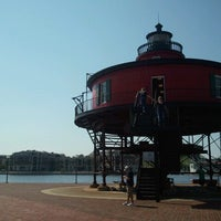 Photo taken at Seven Foot Knoll Lighthouse by Jess D. on 9/22/2012