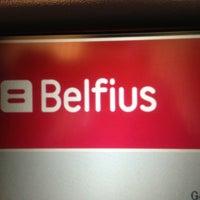 Photo taken at Belfius by Bart D. on 4/17/2013