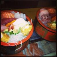 Photo taken at Yummy Sushi by john c. on 11/19/2013