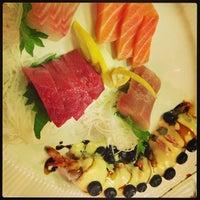 Photo taken at Yummy Sushi by john c. on 4/4/2013