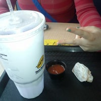 Photo taken at Taco Bueno by Travis M. on 4/18/2013