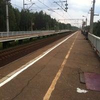 Photo taken at Ж/Д платформа Ямуга by Elena V on 6/30/2013