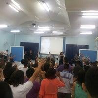 Photo taken at Igreja da Paz by Andrey M. on 10/6/2013
