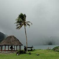 Photo taken at Faga'alu, American Samoa by Kate Erin C. on 1/24/2014