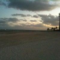 Photo taken at Playa Langosta by Gabriel G. on 12/22/2012