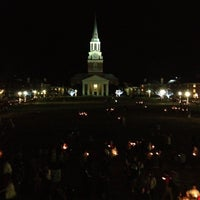Photo taken at Hearn Plaza by William R. on 12/5/2012