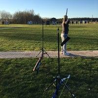 Photo taken at SK Amazones archery summer base by Karine M. on 5/2/2017