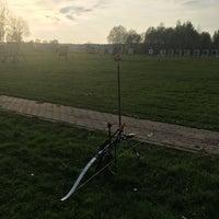 Photo taken at SK Amazones archery summer base by Karine M. on 5/18/2017