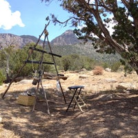 Photo taken at La Luz Trailhead by Rickbischoff on 5/25/2014