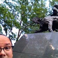 Photo taken at José Julian Martí Monument by Anna Vaughn Hyatt Huntington by Lazaro F. on 5/30/2014