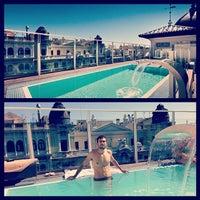 Photo taken at Hotel Catalonia Gran Vía **** by Xabier M. on 8/17/2014