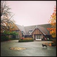 Photo taken at Landhuishotel De Bloemenbeek by CoachSander V. on 10/30/2014