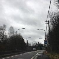 Photo taken at Texaco - Arrêt de bus TEC by Eric M. on 2/27/2017