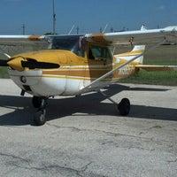 Photo taken at Corpus Christi School of Aviation by Nicholas A. on 8/10/2013