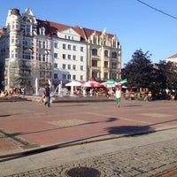 Photo taken at Rynek by Piotr C. on 8/2/2013