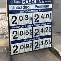 Photo taken at Sam's Club Fuel Center by Joshua W. on 1/19/2017
