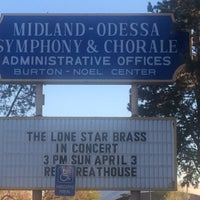 Photo taken at Midland-Odessa Symphony and Chorale by Joshua W. on 3/22/2016