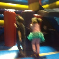 Photo taken at Pump It Up by Genevieve H. on 3/29/2013