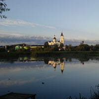 Photo taken at Браиловский Свято-троицкий женский монастырь by Kseniya N. on 8/2/2013