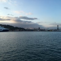 Photo taken at Terminal B del Port de Barcelona by Vitaly B. on 8/30/2016