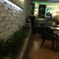 Photo taken at marjinal cafe by Dilek Ö. on 1/21/2014