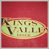 Photo taken at Kings Valley Diner by Ashley S. on 3/25/2013