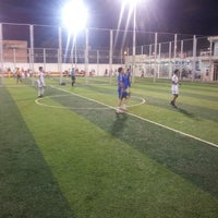 Photo taken at golazzo - Canchas Sintéticas by Sandrita A. on 4/24/2013