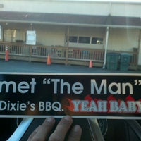 Photo taken at Dixie's BBQ by Jon D. on 3/9/2013