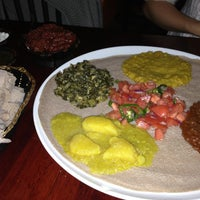 Photo taken at Ethiopic by Andrea L. on 4/27/2013