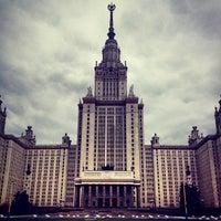 Photo taken at Lomonosov Moscow State University (MSU) by Mikhail N. on 4/28/2013