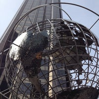 Photo taken at Columbus Circle by Enrique A. on 5/22/2013