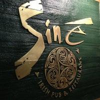 Photo taken at Siné Irish Pub & Restaurant by David ⚡. on 3/31/2013