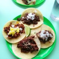 Photo taken at La Taqueria Pinche Taco Shop by Vernice L. on 6/9/2013