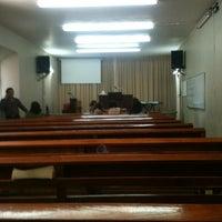 Photo taken at Iglesia Evangelica Bethel by Fher R. on 5/19/2013