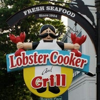 """Photo taken at Lobster Cooker """"The Cookah"""" by Jinni on 9/1/2013"""