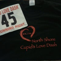 Photo taken at North Shore Cupid's Love Dash by Jason B. on 2/10/2013
