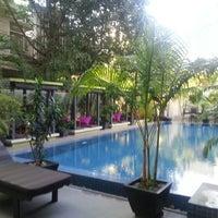 Photo taken at The 252 Hotel, Phnom Penh by Carmen L. on 10/21/2013