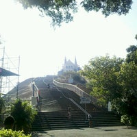Photo taken at Sanctuary of Our Lady of Penha de France by Cássio C. on 5/4/2013