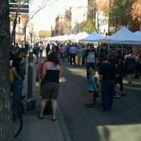 Photo taken at City Centre Farmers' Market by Erika E. on 5/18/2013