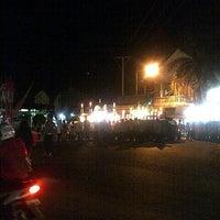 Photo taken at Simpang Lima Ampenan by Rifki S. on 8/7/2013