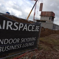 Photo taken at Airspace Indoor Skydiving by Gunther S. on 10/10/2013