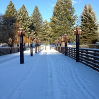 Photo taken at Riverfront Park by Christopher C. on 1/11/2013