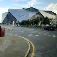 Foto tomada en Mercedes-Benz Stadium por Brian S. el 7/25/2018