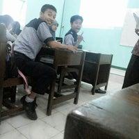 Photo taken at XII IPA 2 SMA Negeri 1 Purwareja Klampok by Mutiara L. on 1/29/2014