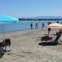 Photo taken at Agia Varvara Beach by Oleg D. on 6/14/2013